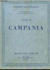 Attraverso L'Italia - Volume Vii - Campania - Couverture - Format classique