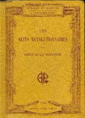 Les Nuits Revolutionnaires - Impressions Et Recits Contemporains. - Couverture - Format classique