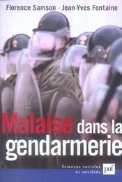 Malaise dans la gendarmerie - Intérieur - Format classique