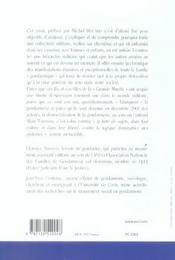 Malaise dans la gendarmerie - 4ème de couverture - Format classique