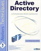 Active directory - Intérieur - Format classique