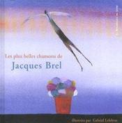 Les Plus Belles Chansons De Jacques Brel - Intérieur - Format classique