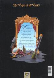 De cape et de crocs t.2 ; pavillon noir - 4ème de couverture - Format classique