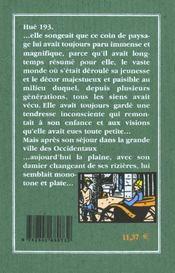 Thi-Ba : Fille D'Annam - 4ème de couverture - Format classique