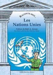 Raconte-Moi... T.12 ; Les Nations Unies - Couverture - Format classique
