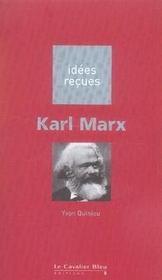 Karl Marx - Intérieur - Format classique