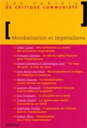 Mondialisation Et Imperialisme - Couverture - Format classique