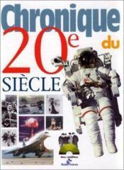 Chronique Du 20e Siecle - Couverture - Format classique
