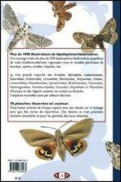 Papillons de nuit d'europe t.1 ; bombyx, sphinx, écailles - 4ème de couverture - Format classique