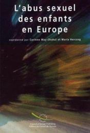 L'abus sexuel des enfants en europe - Couverture - Format classique