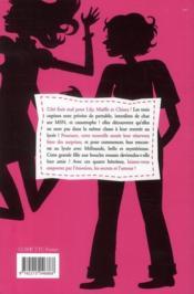 Le roman des filles T.1 ; confidences, sms et prince charmant ! - 4ème de couverture - Format classique