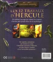 Les 12 travaux d'Hercule - 4ème de couverture - Format classique