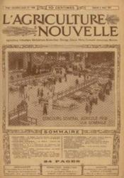 L'agriculture nouvelle, n°1089, samedi 2 mars: concours général agricol (1912) vue générale - Couverture - Format classique