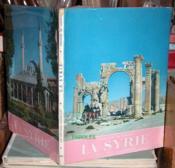 La Syrie. - Couverture - Format classique
