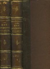 L'Ingenieux Hidalgo Don Quichotte De La Manche - Tome 1 Et 2 - Couverture - Format classique