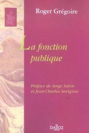La fonction publique - Intérieur - Format classique