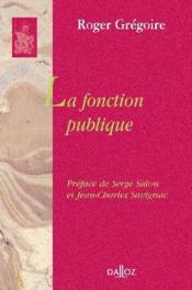 La fonction publique - Couverture - Format classique