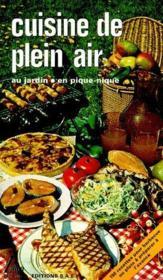 Cuisine de plein air - Couverture - Format classique