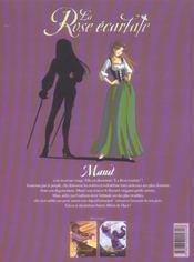 La rose écarlate T.2 ; je veux que tu m'aimes - 4ème de couverture - Format classique
