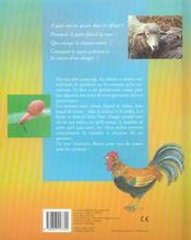 La vie des animaux de chez nous - 4ème de couverture - Format classique