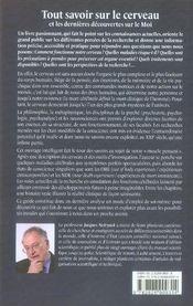 Tout savoir sur le cerveau et les dernières découvertes sur le moi - 4ème de couverture - Format classique