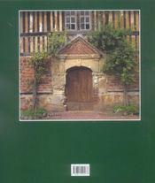 Manoirs du pays d'Auge - 4ème de couverture - Format classique