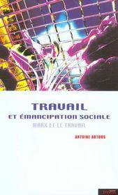 Travail et emancipation sociale - Intérieur - Format classique