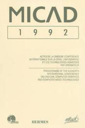 Micad 1992 en 2 volumes - Couverture - Format classique