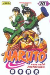 Naruto t.10 - Couverture - Format classique