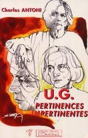 U.g. pertinences impertinentes - Intérieur - Format classique