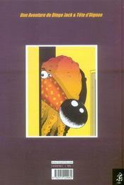 Dingo jack t.1 : la planete sans nom - 4ème de couverture - Format classique