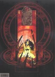 Claudia, chevalier vampire T.1 ; la porte des enfers - 4ème de couverture - Format classique