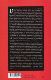 Écrire l'histoire de l'Amérique latine ; XIXe-XXe siècles - 4ème de couverture - Format classique
