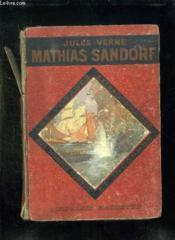 MATHIAS SANDORF. 1er ET 2em PARTIE. - Couverture - Format classique