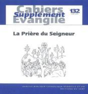 La Priere Du Seigneur Sce132 - Couverture - Format classique