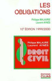 Droit Civil T.6 ; Les Obligations ; 10e Edition - Intérieur - Format classique