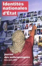 Journal des anthropologues - hors-serie / 2007 - Couverture - Format classique