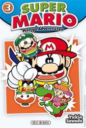 Super Mario ; manga adventures T.3 - Couverture - Format classique