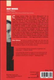 Jazz palace - 4ème de couverture - Format classique