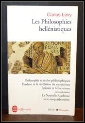 Les Philosophies Hellenistiques - Couverture - Format classique