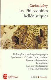 Les Philosophies Hellenistiques - Intérieur - Format classique