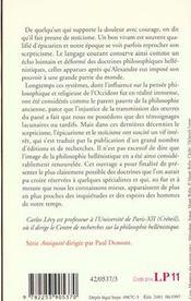 Les Philosophies Hellenistiques - 4ème de couverture - Format classique