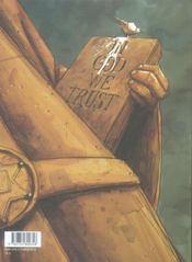 James Dieu ; intégrale t.2 - 4ème de couverture - Format classique