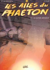 Les ailes du phaëton t.7 ; le saphir abysseen - Intérieur - Format classique