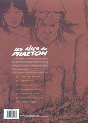 Les ailes du phaëton t.7 ; le saphir abysseen - 4ème de couverture - Format classique
