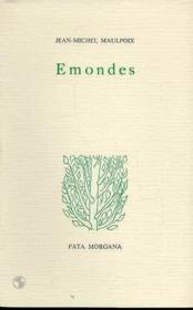 Emondes - Couverture - Format classique