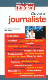 Devenir Journaliste ; Edition 2000 - Intérieur - Format classique