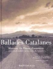 Ballades Catalanes - Couverture - Format classique