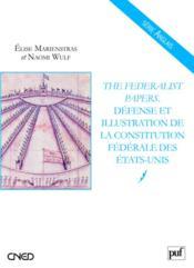The federalist papers - Couverture - Format classique