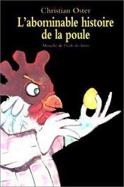 L'abominable histoire de la poule - Intérieur - Format classique